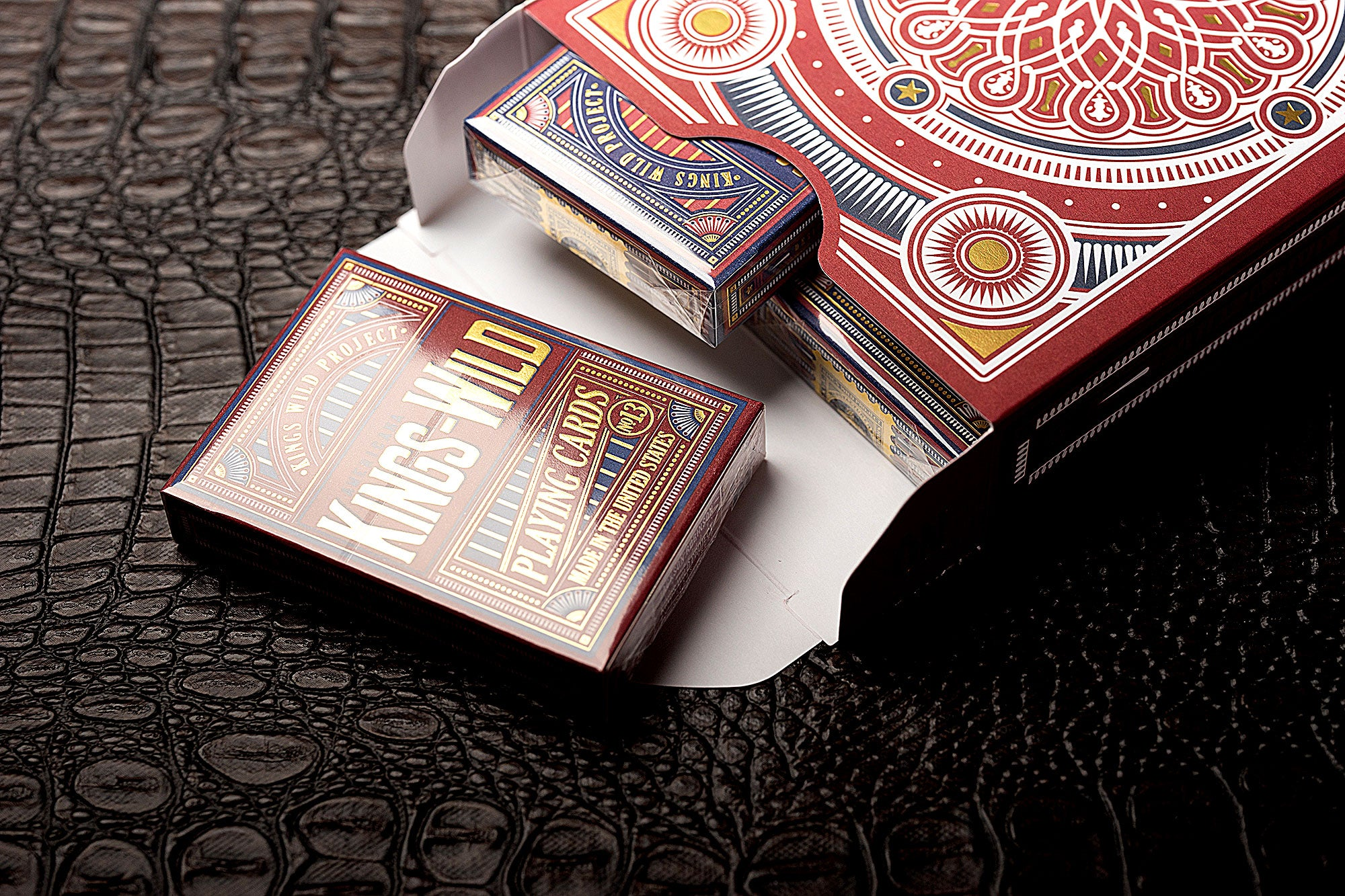 Kings Wild Americana - GILDED Jumbo tuck case collector's set.