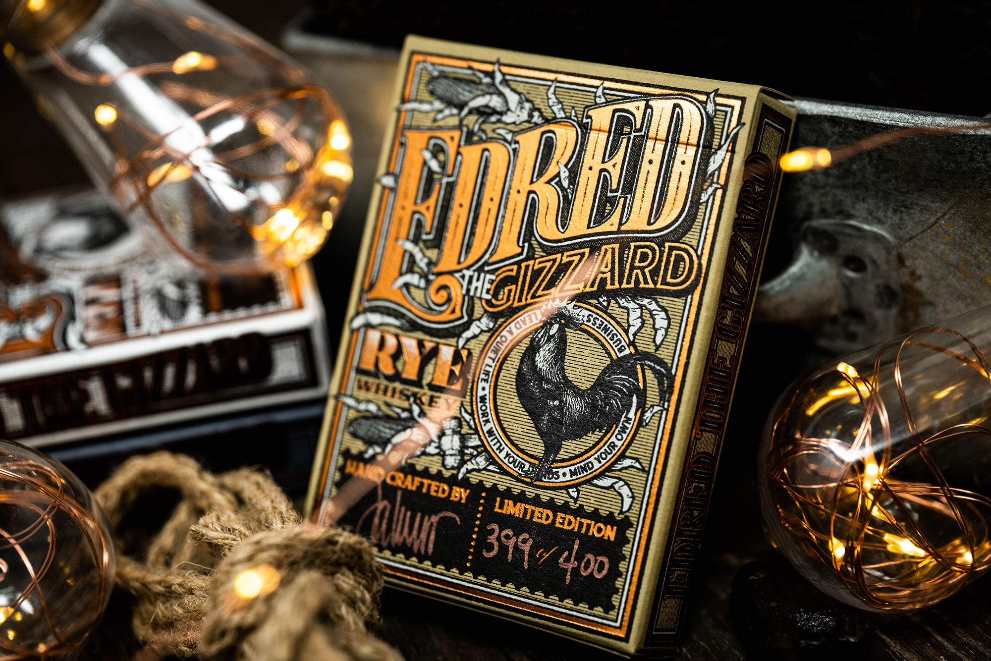 """13th Deck"" Edred The Gizzard - Limited Edition"