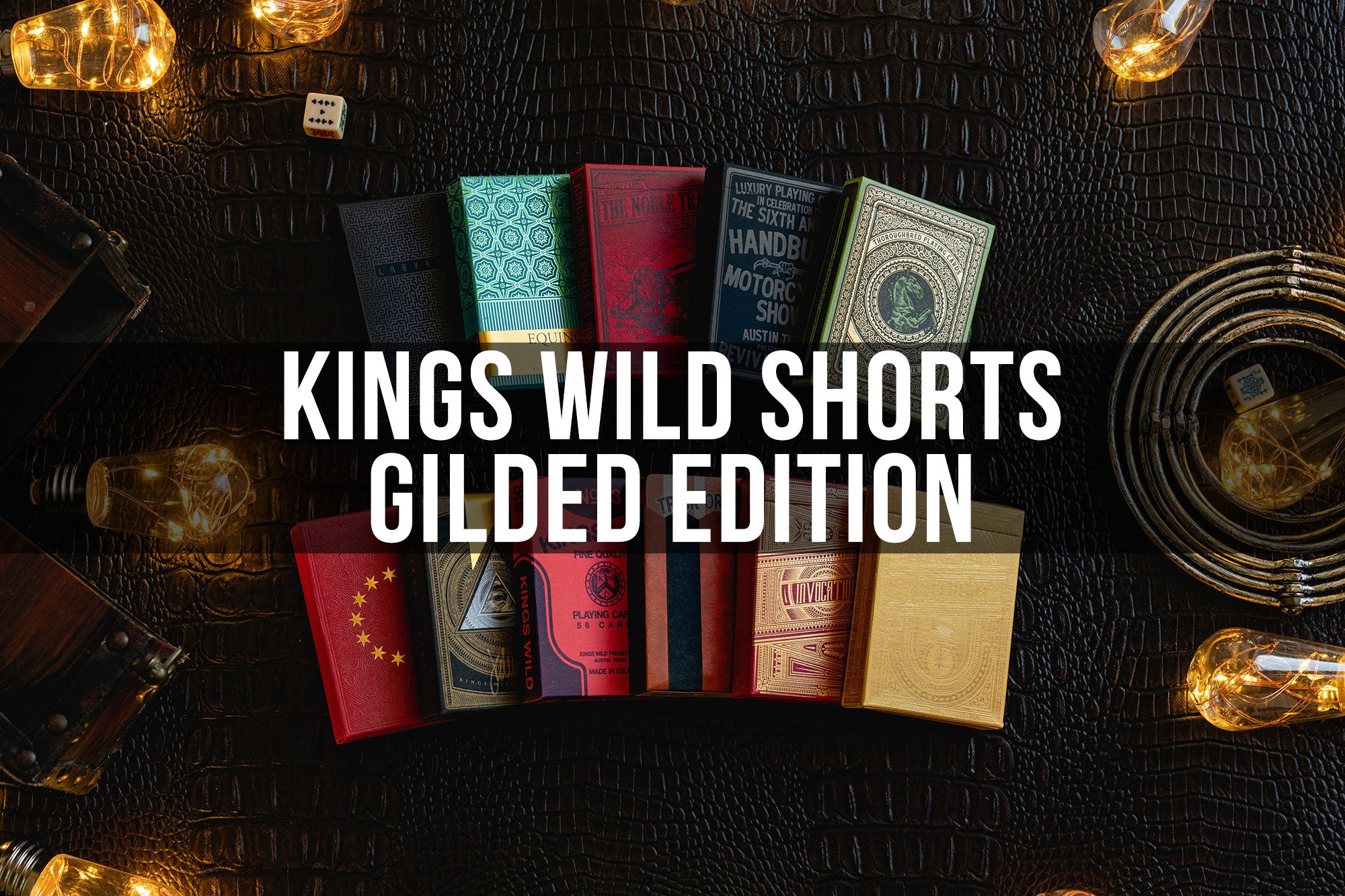 GILDED EDITION - Kings Wild Shorts Subscription (February)