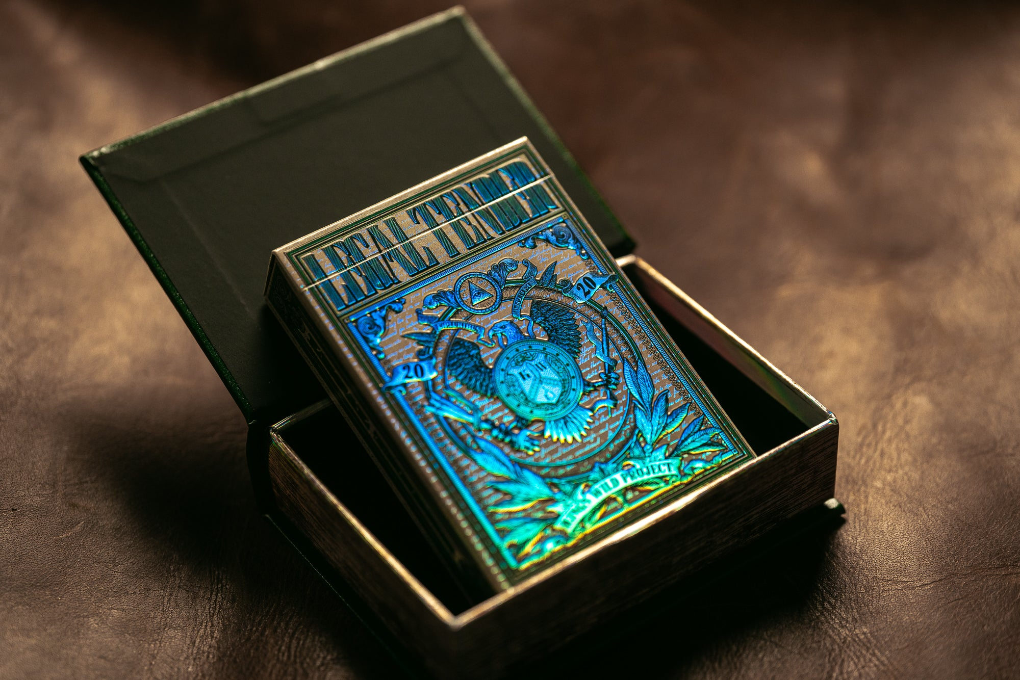 Holographic Gilded Legal Tender Book Box Edition