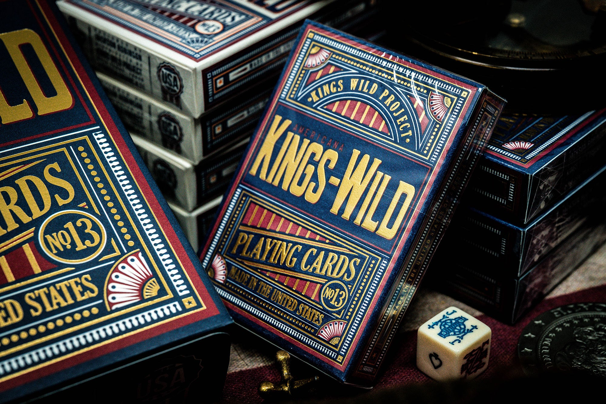 Kings Wild Americana - Limited Edition Jumbo Tuck Case Collection