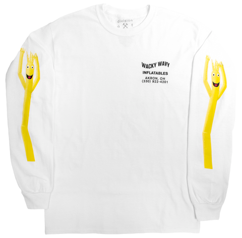 Wacky Wavy Inflatable Goof Long Sleeve Graphic Tee by DOL detail image