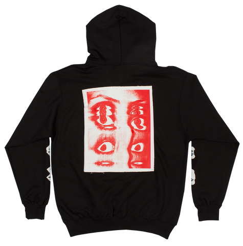 Inner Vision Back Patch Hoodie