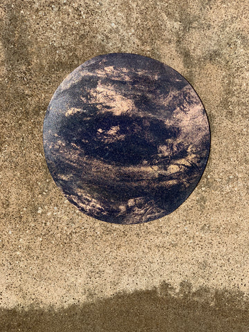 Dark and Stormy wall planet