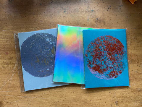 ~sale~ set of three notebooks