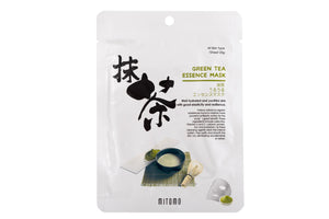 Mitomo Bamboo Green Tea Essence Sheet Mask