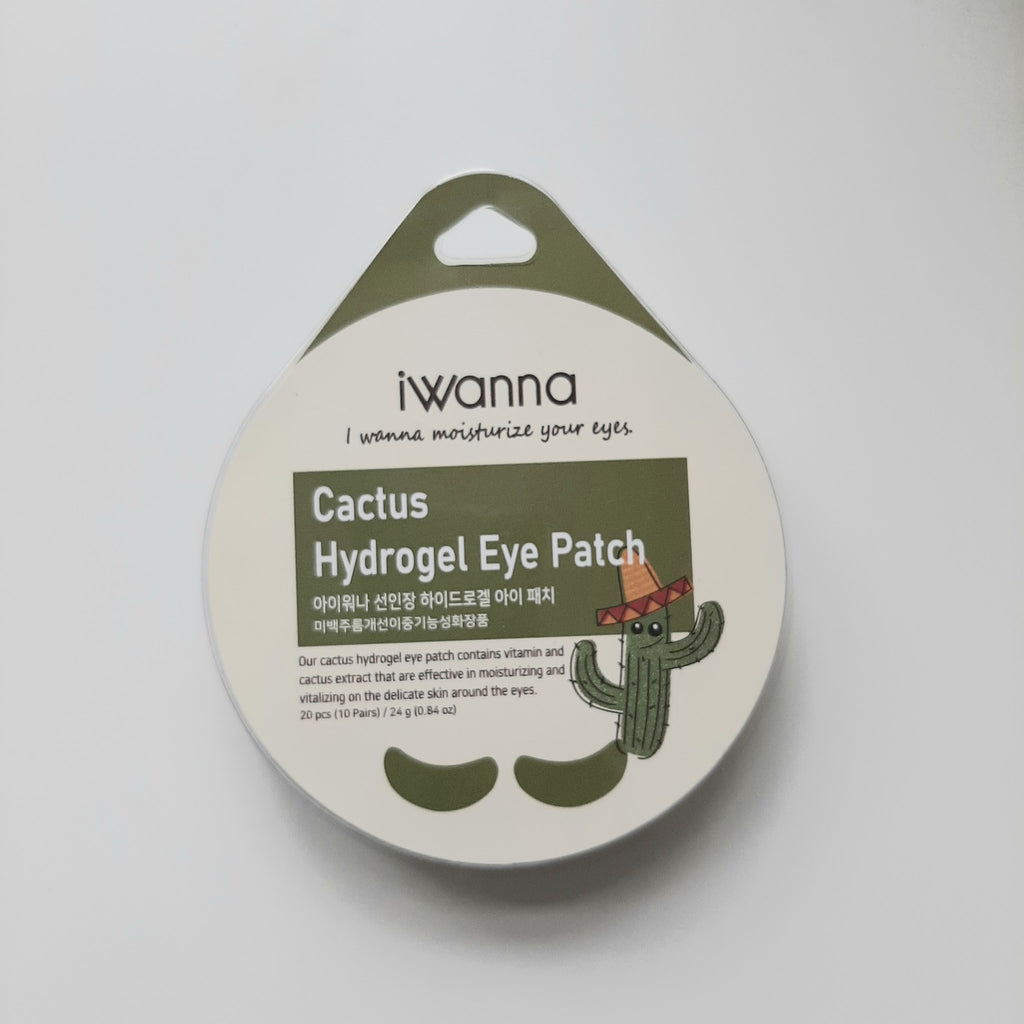 Iwanna Cactus Hydrogel Eye Patch