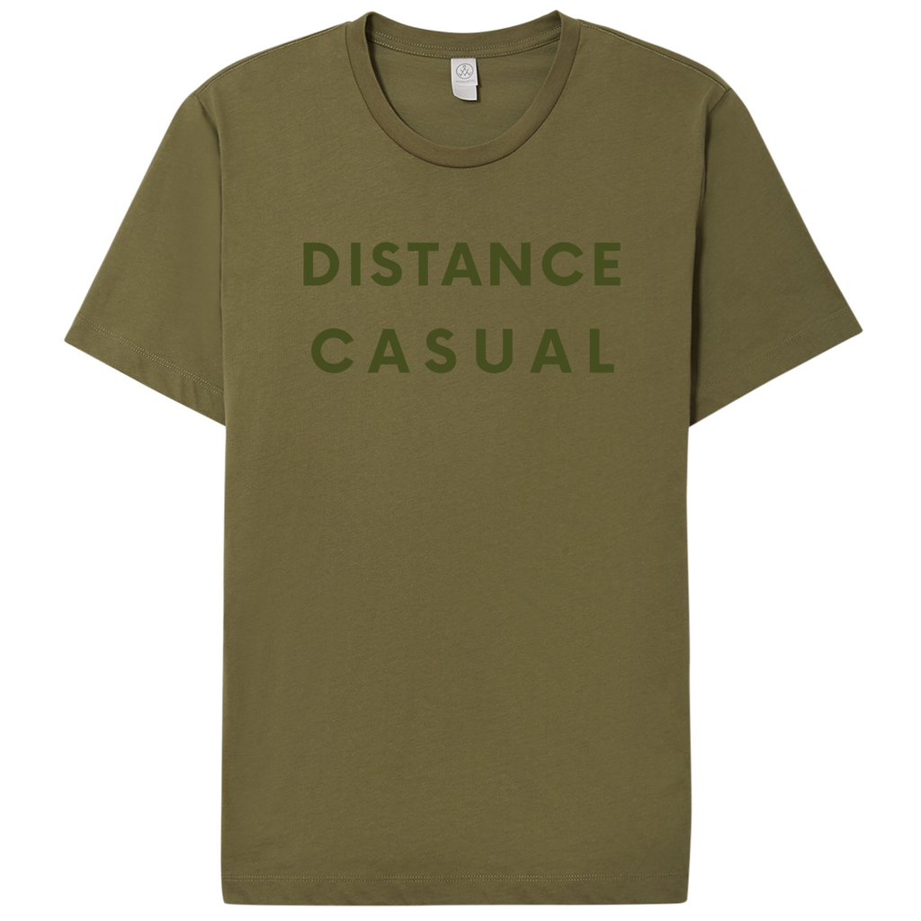DISTANCE CASUAL -olive - Yellowcake Shop