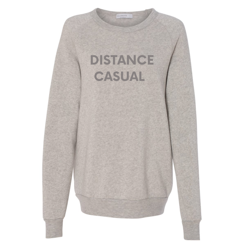 Distance Casual Sweatshirt, Grey