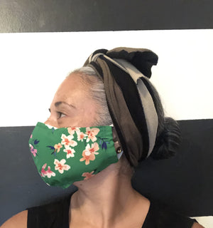 Floral Print Face Mask Pack - Yellowcake Shop