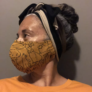 Animal Print Face Masks - Yellowcake Shop