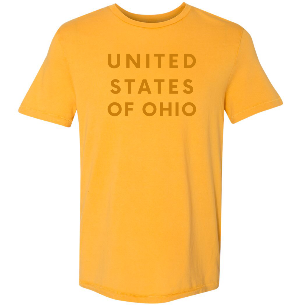 UNITED STATES OF OHIO - mustard - Yellowcake Shop