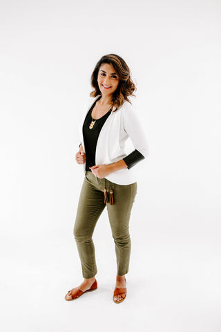 Luxe Tri-Pocket Cardigan