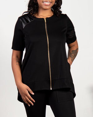 Luxe Hi-Low Tunic - Yellowcake Shop