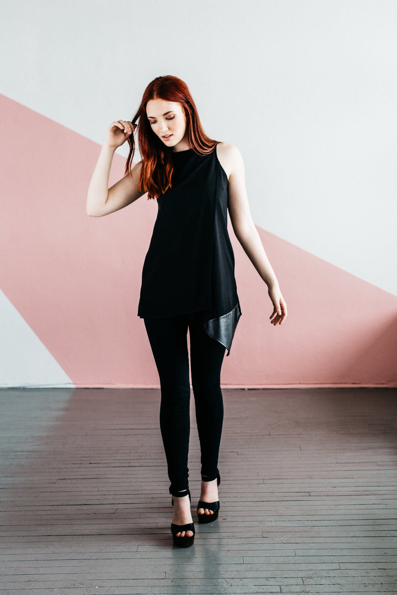 The Geo Luxe Tunic