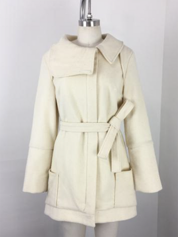 The Luxe Coat - Ivory
