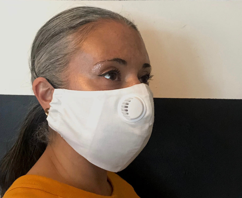 Protective Face Mask with Ventilator - Yellowcake Shop
