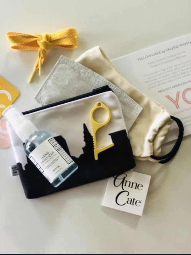YC & Anne Cate mini canvas emergency kit - Yellowcake Shop