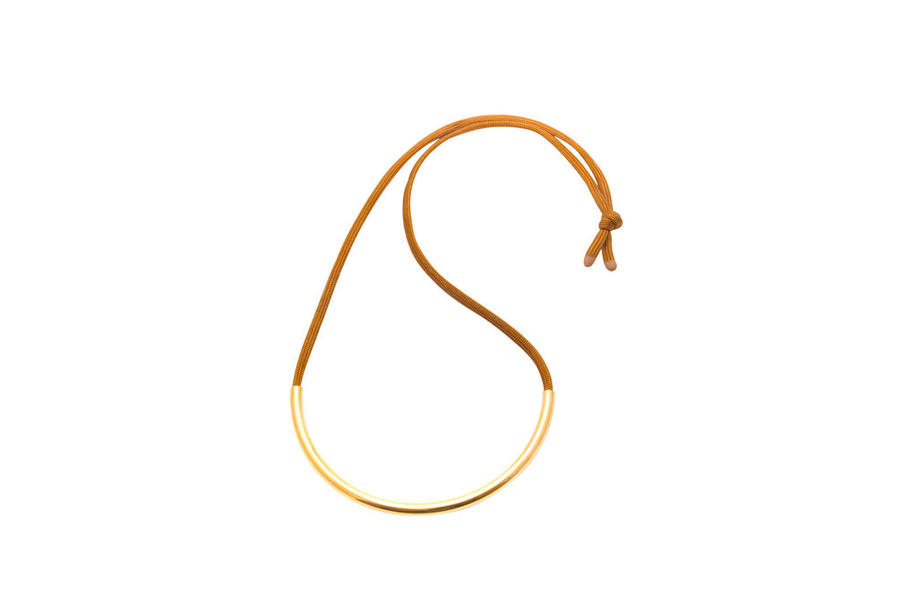 Gold Standard Necklace Sienna - Yellowcake Shop