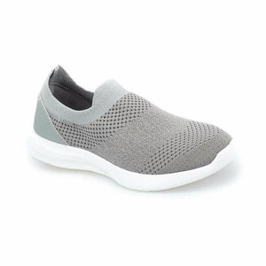 Women's Light Grey Walking Shoes...
