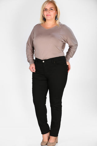 Women's Oversize Black Trousers - Fashion Under Arrest