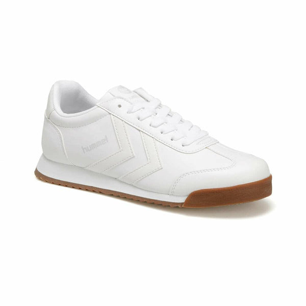 Men's Lace-up White Sneakers - Fashion Under Arrest