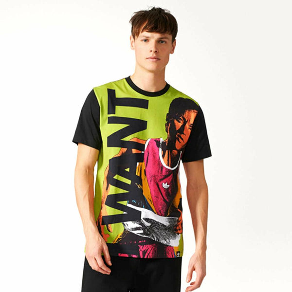 Men's Patterned Multicolor T-shirt