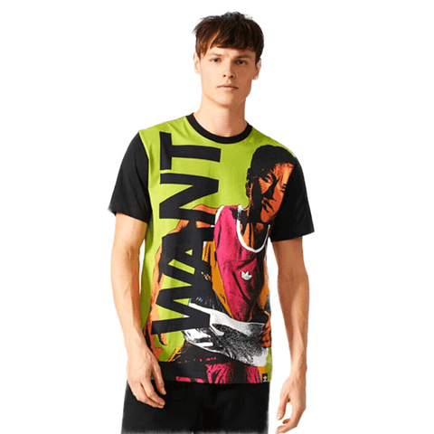 Men's Patterned Multicolor T-shirt - Fashion Under Arrest