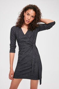 Women's Navy Blue Short Dress - Fashion Under Arrest