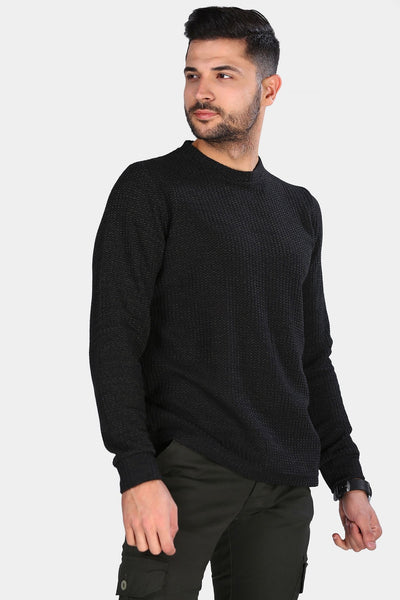 Men's Crew Neck Jumper-5