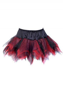 Sexy Red Black Tutu Skirt.