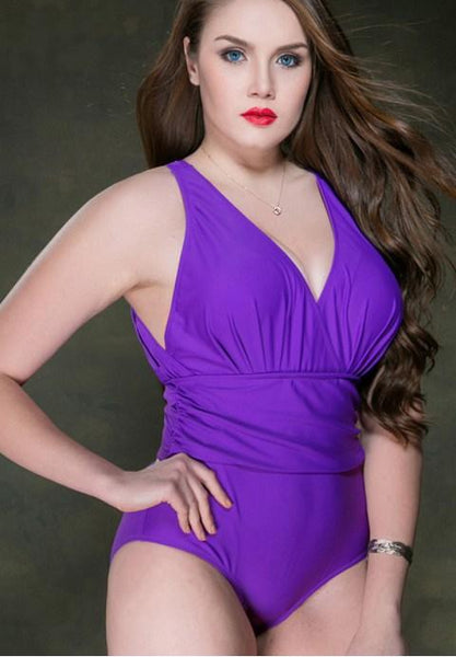High Quality One Piece Plus Size Swimsuit.