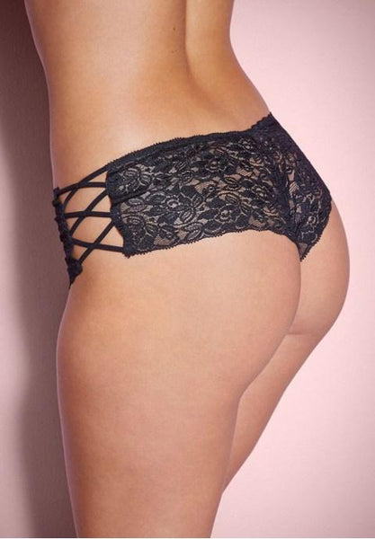 Plus Size Criss-Cross Panty - Fashion Under Arrest