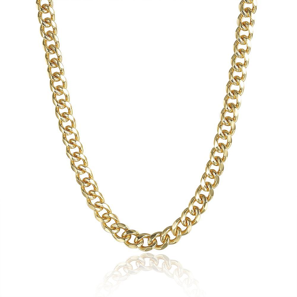"Classic 18"" Link Chain in 18K Gold Plated"