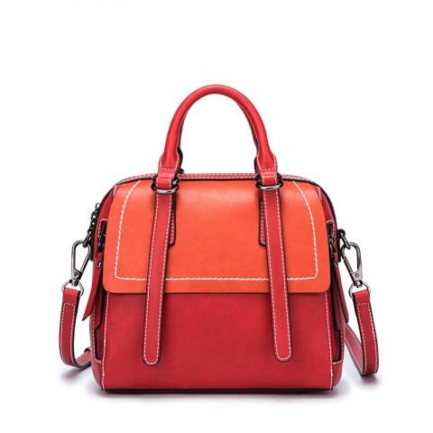Women's PU Leather Shoulder Bags Messenger Tote Bags.