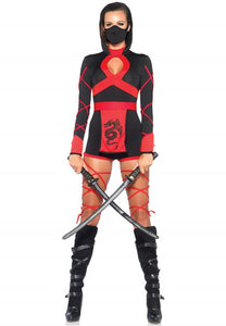 Women's Dragon Ninja Costume - Fashion Under Arrest