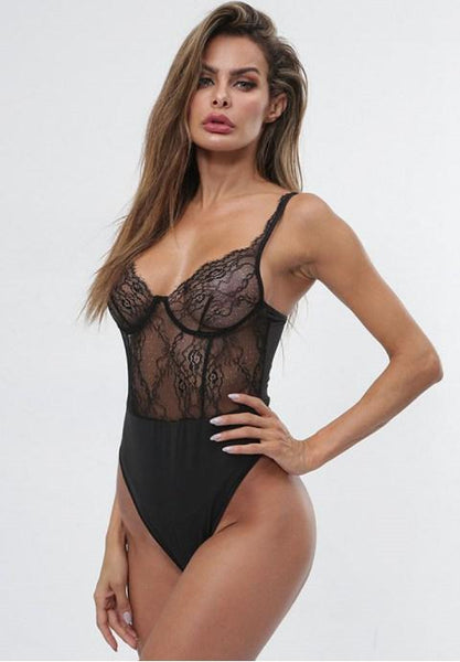 Soft and Sheer Teddy - Fashion Under Arrest
