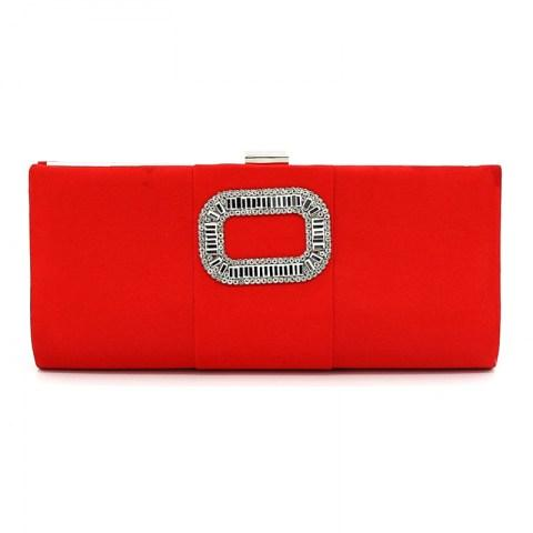 Clasp Flap Purse Evening Bag Clutch - Fashion Under Arrest