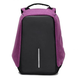 Fashion USB CHARGING Anti-theft Travel Backpack Bag