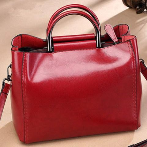 Women's Leather Houlder Bag Purse Satchel Handbag Tote Bags.