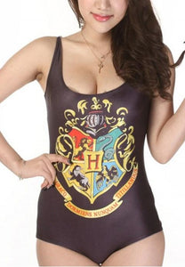 Gryffindor House One-piece Swimsuit - Fashion Under Arrest