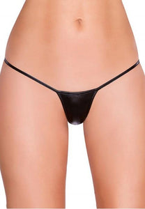 Plus Size Exotic Micro Shiny G String Thongs.