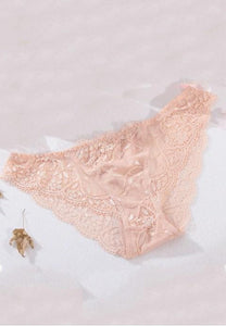 Floral Lace Bikini Panty - Fashion Under Arrest