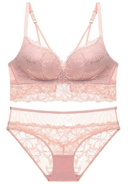Sweetest Thing Lace Bra Set.
