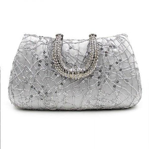 Elegant Rhinestones Evening Bag