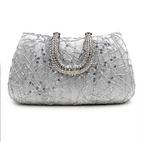 Elegant Rhinestones Evening Bag - Fashion Under Arrest