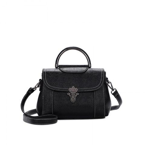 Women's Leather Handbag Messenger Shoulder Bag