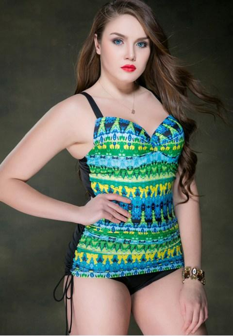 One-Piece Plus Size Swimsuit.