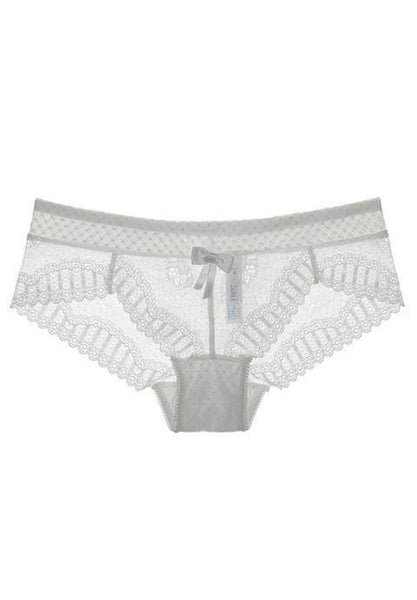 Sheer Floral Lace Panty - Fashion Under Arrest