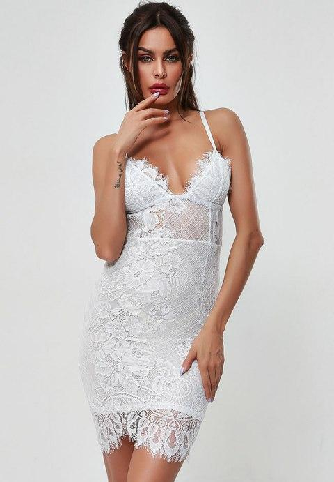 Lovely Lace Chemise Set - Fashion Under Arrest